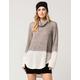 BLU PEPPER Cowl Neck Womens Sweater