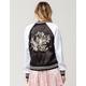 FULL TILT Embroidered Womens Reversible Bomber Jacket