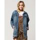 HIGHWAY Oversized Womens Denim Jacket