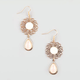 FULL TILT Filigree Drop Earrings
