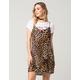 FULL TILT Leopard Slip Dress