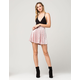 FULL TILT Crushed Velvet Skater Skirt