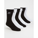 ADIDAS Originals 6 Pack Trefoil Mens Crew Socks
