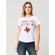 GOODIE TWO SLEEVES Things Are Better In Texas Womens Tee