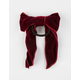 FULL TILT Velvet Bow Hair Tie