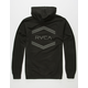 RVCA Double Hex Reflective Mens Hoodie