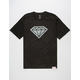 DIAMOND SUPPLY CO. Photo Rock Logo Mens T-Shirt