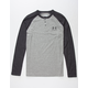 UNDER ARMOUR Colorblock Triblend Mens Henley