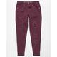 VANILLA STAR PREMIUM Destructed Roll Cuff Girls Jeans