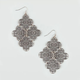 FULL TILT 4 Flower Chandelier Earrings