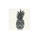 BILLABONG Pineapple Stamp Sticker