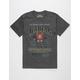JIM BEAM Distressed Label Mens T-Shirt