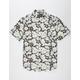 RETROFIT Doodle Floral Mens Shirt