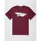BENNY GOLD Classic Paper Plane Mens T-Shirt