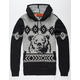 GRIZZLY Rocky Mountain Mens Sweater Hoodie