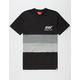 ASPHALT YACHT CLUB Knit Paneled Mens T-Shirt