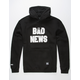 GRIZZLY Bad News Mens Hoodie
