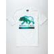 NOR CAL Wave Bear Mens T-Shirt