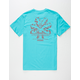 WEATHER MTN Flakes Mens T-Shirt