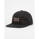 RVCA Mechanics Mens Snapback Hat