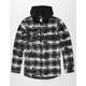 NEFF Thomas Mens Hooded Flannel