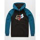 FOX With A Win Mens Hoodie