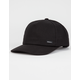 RVCA Solo Curved Mens Snapback Hat