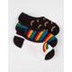 VANS 3 Pack Triple Rainbow Canoodle Womens Socks