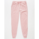 ALMOST FAMOUS Velour Girls Jogger Pants