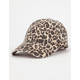 Leopard Print Womens Dad Hat