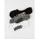 VANS 3 Pack No Show Boys Socks