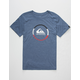 QUIKSILVER Active Logo Blocked Boys T-Shirt