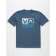 RVCA Electro Flipped Box Boys T-Shirt