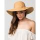 Classic Straw Floppy Womens Hat