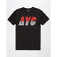ASPHALT YACHT CLUB Athletic Stripe Mens T-Shirt