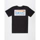 FAMOUS STARS & STRAPS Cali Plates 80s Mens T-Shirt