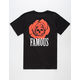 FAMOUS STARS & STRAPS Dead Rose Mens T-Shirt