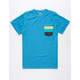 BILLABONG Tri Bong Mens Pocket Tee
