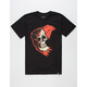 FAMOUS STARS & STRAPS Reaper Badge Mens T-Shirt