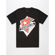 FAMOUS STARS & STRAPS Solid Miss Mens T-Shirt