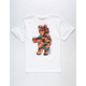 RIOT SOCIETY Tropical Native Bear Boys T-Shirt