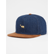 OFFICIAL Gold Dolo Suede Mens Strapback Hat