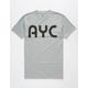 ASPHALT YACHT CLUB Tokyo Underground Mens T-Shirt