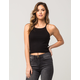 FULL TILT Essential Ribbed Womens Sweater Tank