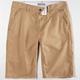 CHARLES AND A HALF Flat Front Mens Shorts