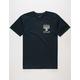 BLUE CROWN Menorah Mens T-Shirt