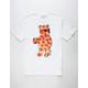RIOT SOCIETY Pizza Bear Mens T-Shirt