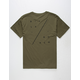 BILLABONG Diagonal Mens T-Shirt