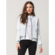 RSQ Denim Womens Bomber Jacket