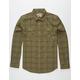 NIXON Lewis Mens Flannel Shirt